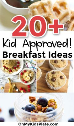 These easy healthy breakfast ideas for kids are perfect before school and great for picky toddlers. Make these recipes and keep the family full all week! Healthy Filling Breakfast, Ice Cream For Breakfast, Make Ahead Breakfast, Healthy Breakfast Recipes, Breakfast Ideas, School Breakfast, Microwave French Toast, Homemade French Toast, Zucchini Chocolate Chip Muffins
