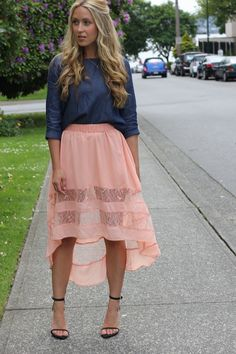Love the color combo! The skirt is absolutely adorable!  www.ourfavoritestyle.com