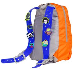 Back To School Backpack Rucksack Customisable Squid Pack (2)