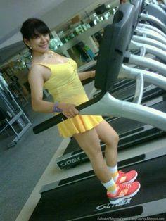 Fitness Ma Tante Girang Montok | KELAKUAN ABG