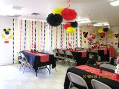 Minnie Mouse Red Polka Dots Birthday Party Ideas | Photo 5 of 77
