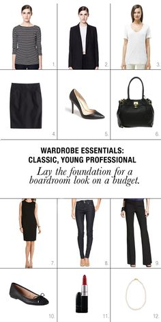 The StyleUp: Wardrobe Essentials: Everything A Young Professional Needs Blog | StyleUp