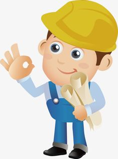 Construction Cost, Construction Worker, Engineer Cartoon, Doodle Art, My Dream, Promotion, Pikachu, Engineering, Doodles