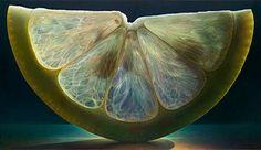 Художник из Огайо, Dennis Wojtkiewicz рисует  потрясающие фотореалистичные картины фруктов, причем с проработкой мельчайших деталей.  #ZeepShop