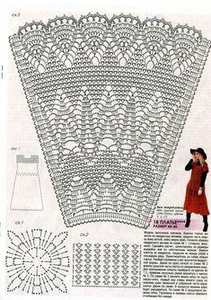 Fabulous Crochet a Little Black Crochet Dress Ideas. Georgeous Crochet a Little Black Crochet Dress Ideas. Crochet Skirt Outfit, Crochet Skirt Pattern, Crochet Toddler Dress, Black Crochet Dress, Crochet Skirts, Crochet Diagram, Crochet Stitches Patterns, Crochet Shoes, Crochet Blouse