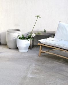 "a n e t t e on Instagram: ""Summerhouse leftover #tinekhome #concrete #outdoor"""