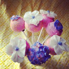Flower Cake Pops | San Diego Cake Pop Shop