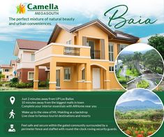 Flourish in this township that perfectly combines urban conveniences and natural beauty. Invest in your favorites brought close to you by Camella!  #CamellaMegaSouth #AlwaysAFavorite #FourDecadeFavorite Welcome Home, Flourish, Natural Beauty, Bring It On, Posts, Urban, Mansions, House Styles, Nature