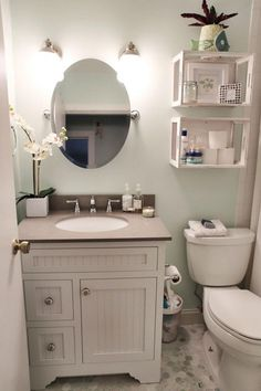 Inspiring DIY Small Bathroom Organization and Ideas