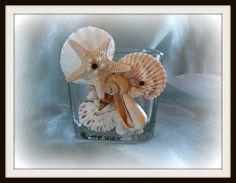 The Tides seashell vase/holder by SuziesSeashellWorld on Etsy