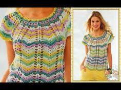 Beau Crochet, Love Crochet, Beautiful Crochet, Crochet Top, Blouse Au Crochet, Black Crochet Dress, Crochet Vest Pattern, Crochet Patterns, Crochet Humor