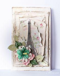 Paris Flea market - kortti:)