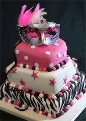 Resultado de imagen para decoracion de tortas con antifaz