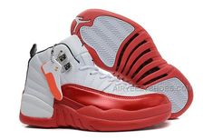 Girls Air Jordan 12 GS White Red For Womens Onlline For Sale from Reliable Big Discount! Girls Air Jordan 12 GS White Red For Womens Onlline For Sale suppliers. Girls Air Jordan 12 GS White Red For W Jordan 12 Shoes, Air Jordan Xii, Michael Jordan Shoes, Air Jordan 12 Retro, Jordan Sneakers, Nike Sneakers, Jordan 12s, Cheap Jordans, New Jordans Shoes