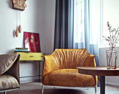 modern apartment in scandinavian style