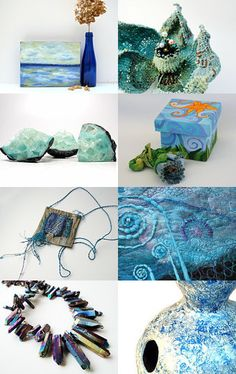 Blues Worth Having by Nicole Planchon on Etsy--Pinned with TreasuryPin.com