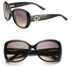 673a0c12456 Gucci Logo Butterfly Sunglasses -  267.00