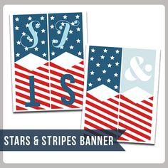 Rosemary Watson Creative: Stars & Stripes Banner