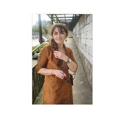 UN VESTIDO PARA MÍ♥                                       by bea       : Suede dress