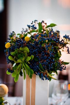 love berries in arrangements