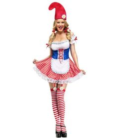 Sexy Gnome Womens Costume | FAIRYTALE