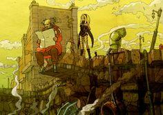 Gravity Rush Remastered conserve toute sa jeunesse grâce à des scènes dessinées et inspirées du style manga. Leur intérêt est indéniable dans la progression de l'aventure.  http://lamaisonmusee.com/