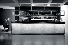 Bar counter / backlit / commercial - ZERODIECI - frigomeccanica - Videos