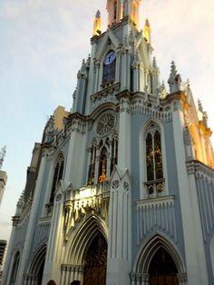 Iglesia La Ermita, Cali, Colombia, September 2013.