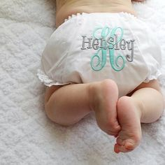 Baby Girl Bloomers | Gentry's Closet | $13 | Thanks for the photo @jaxandhensley! | Click link to shop: http://gentryscloset.com/collections/bloomers-pants-and-shorts/products/baby-girl-bloomers