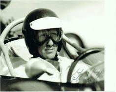 Jochen Rindt signed Photograph
