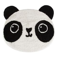 Kawaii Panda Rug (790 PHP) ❤ liked on Polyvore featuring home, rugs, cotton area rugs and cotton rugs