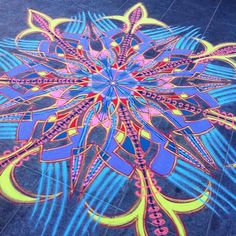 Sand Painting, Sand Art, Over The Years, Street Art, Fair Grounds, It Is Finished, Awesome, Nyc, Colorful