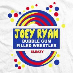 Great shirt, he always has a blow pop sucker :) Joey Ryan, Random Stuff, Wrestling, Pop, Shirt, Random Things, Lucha Libre, Popular, Pop Music