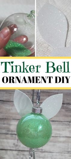 disney crafts I am super excited to share with you how to make your own DIY Tinker Bell ornament! Tinker Bell has been warming hearts since she first made her appearance in How can a person Disney Christmas Crafts, Disney Crafts For Kids, Disney Christmas Decorations, Christmas Diy, Diy Disney Gifts, Disney Ideas, Disney Cute, Walt Disney, Tinker Bell