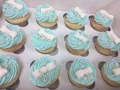 Tiffany Style Cupcakes