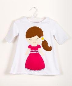 Felt little girl,applique dress,beautiful birthday dress,party dress,birthday or every day dress,baby and toddler dress