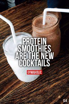 This morning's was vanilla protein powder, 1/2c skim milk, 1/2 cup OJ, 1/3c remaining Vitamin water strawberry zero stuff, power greens, banana, strawberry greek yogurt and MMMMM