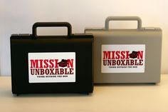 Mission Unboxable Spy Case Secret Agent by MissionUnboxable