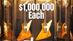 Why Are These Guitars Worth $1 Million Dollars Each? - YouTube