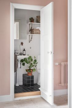 Home in blue and pink - via Coco Lapine Design blog