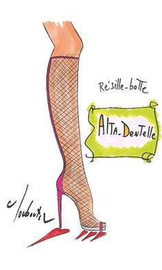 Christian Louboutin 20th Anniversary Capsule Collection - Alta Dentelle
