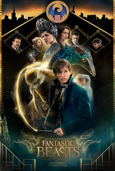 Fantastic Beasts - fanmade poster