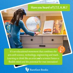 Have you heard of STEAM? Barefoot Books