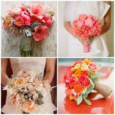 { tendance 2013 } des idées de mariage couleur corail