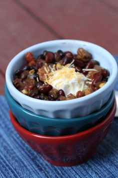 Spicy Slow Cook Turkey Chili