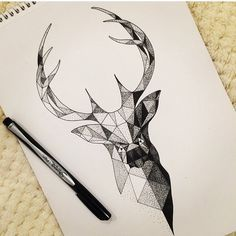 dot work stag head