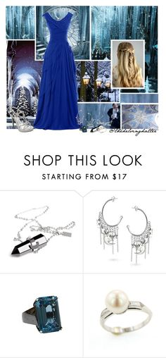 """The Yule Ball"" by thehelsinghatter ❤ liked on Polyvore featuring celebrations and PottermoreInPolyvoreMagicChallenge"