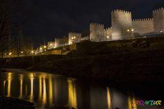 Noches fotograficas alrededor de las Murallas de Ávila