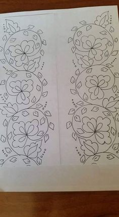 Hand Embroidery Design Patterns, Hand Embroidery Videos, Hand Work Embroidery, Hand Embroidery Patterns, Embroidery Techniques, Ribbon Embroidery, Embroidery Art, Embroidery Stitches, Bordado Popular