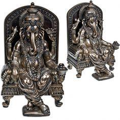 Large Sitting Ganesha Statue